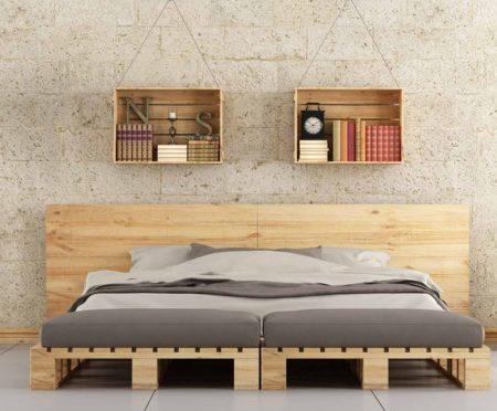 Adopter le lit 2 places en palette dans votre chambre