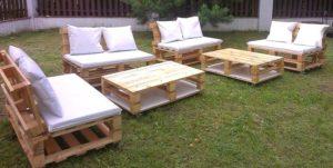 Idées pour fabriquer votre meuble de jardin en palette