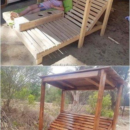 Canapé 2 places pour piscine