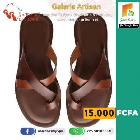 Sandale en cuir Homme S5