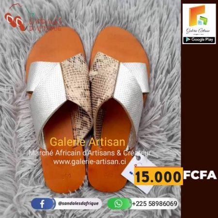 Sandale en cuir Femme S9