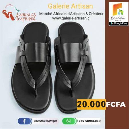 Sandale en cuir Homme S8