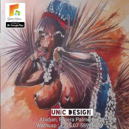 Unic Design-Femme Africaine